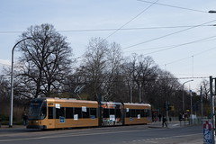 Bombardier Flexity Classic der DVB Dresden