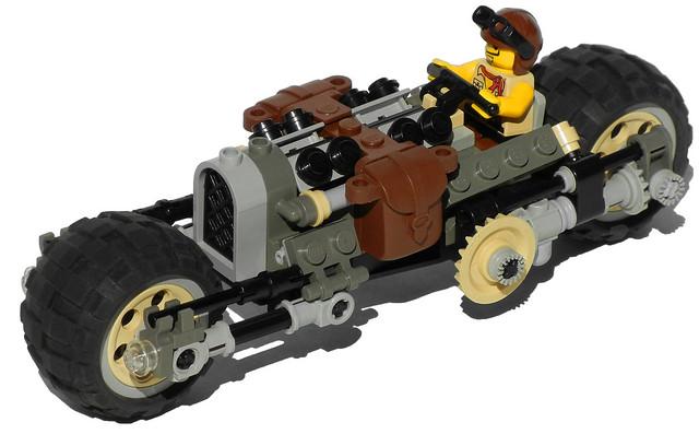 """Zebra"" Heavy Diesel Motorcycle Mk. X (front)"