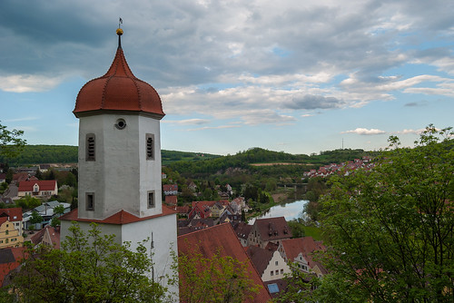 View from Harburg Castle