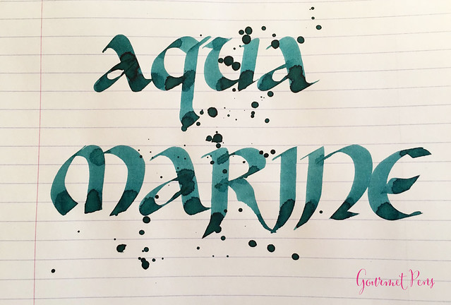 Ink Shot Review Pelikan Edelstein Aquamarine Ink of the Year 2016 @PenBoutique (8)