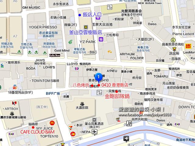 南浦洞地圖