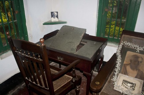 Writing Table of Sarat Chandra in Deulti, Howrah - West Bengal, India