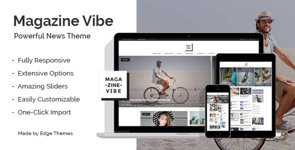 Themeforest Magazine Vibe v1.0 - A Powerful News & Magazine Theme