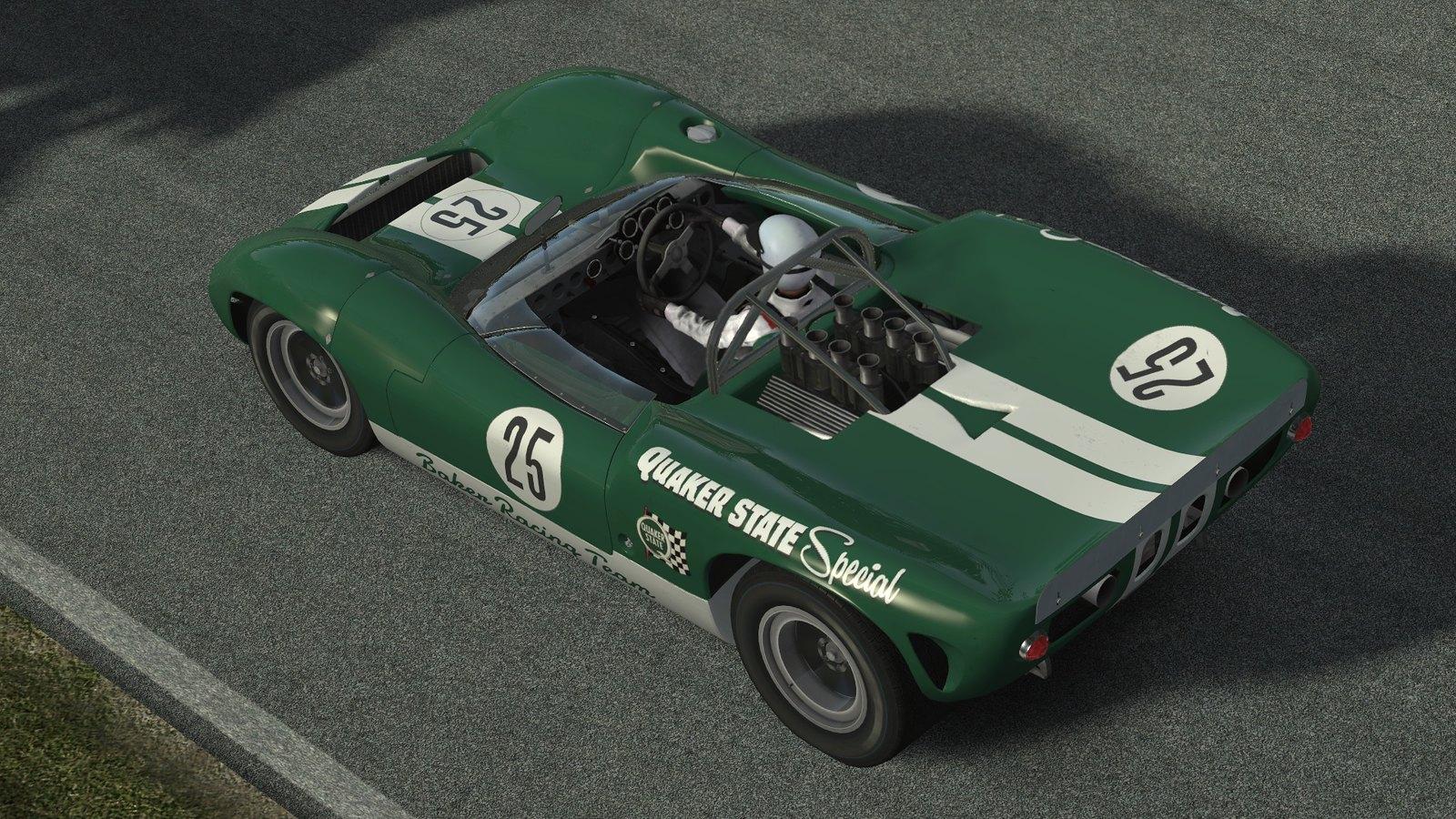 Релиз мода Lola T70 Spyder V1.0.4