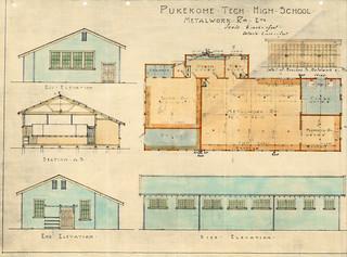 Pukekohe Technical High School - Metalwork Rooms (1924)