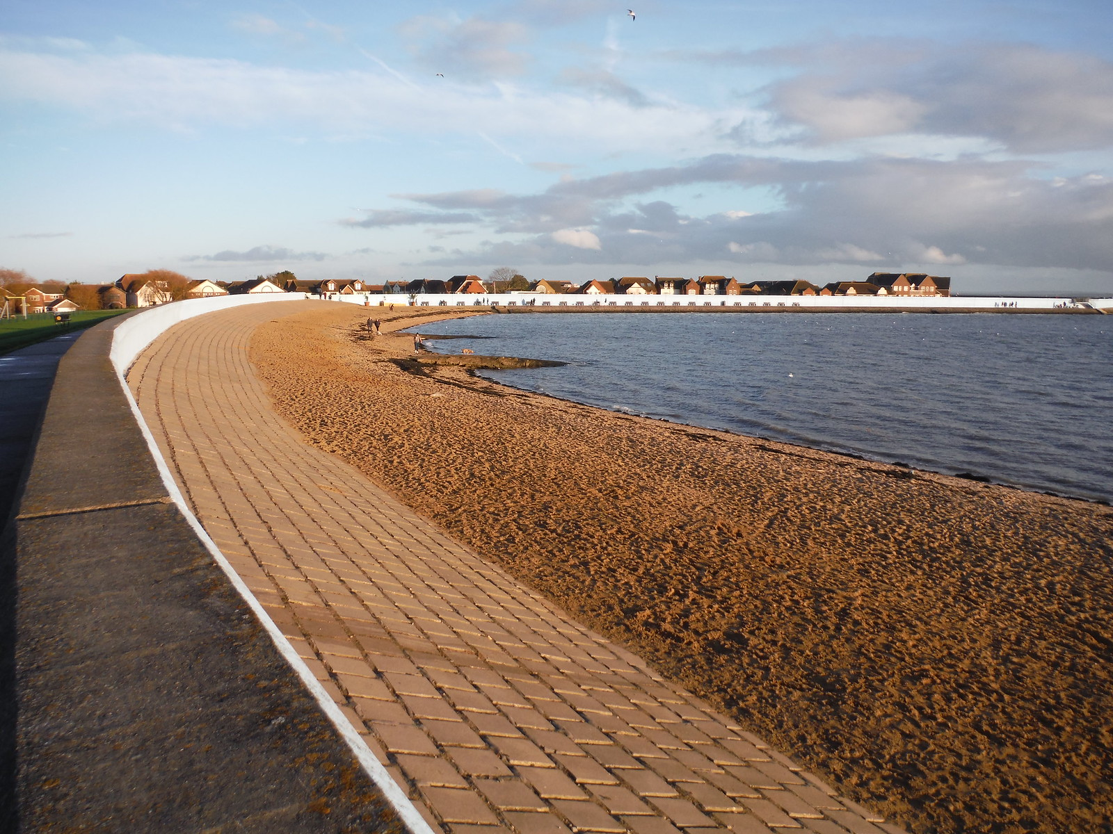 Thorney Bay, Canvey Island SWC Walk 258 Benfleet Circular (via Canvey Island)