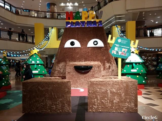 港威中心 hongkong tst 尖沙咀2015 CIRCLEG 聖誕裝飾  (6)