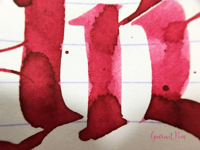 Ink Shot Review Caran d'Ache Divine Pink @BureauDirect (11)
