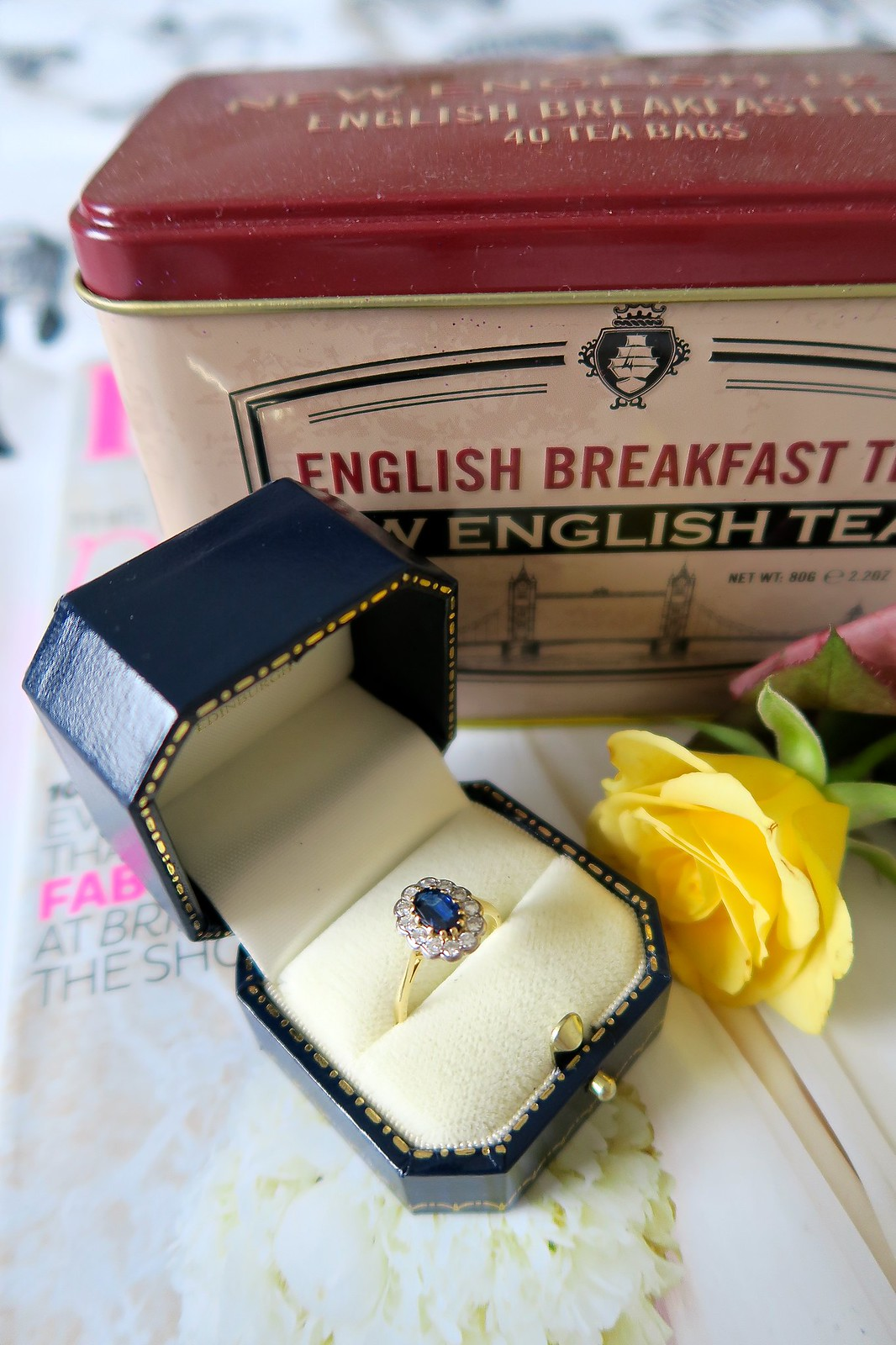 uk fashion lifestyle blogger proposal story engagement ring