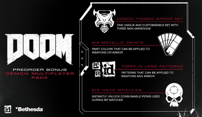 DOOM Preorder Bonus Pack