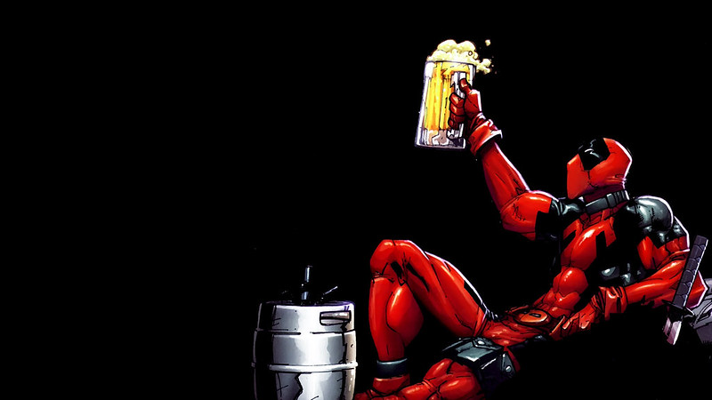 deadpool-enjoys-beer