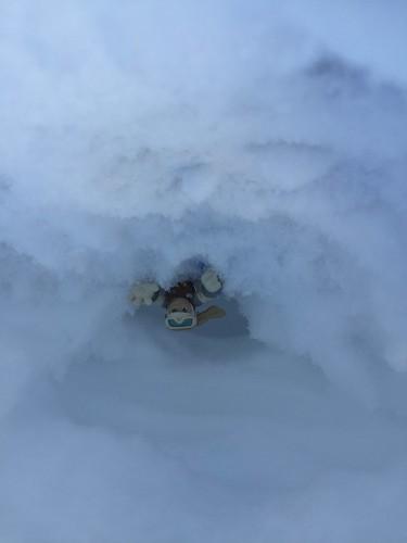 Star Wars fun in the snow!