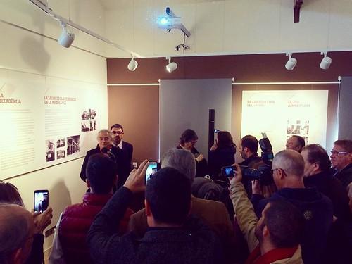 Inauguració del Centre d'Interpretació del #Funicular de #Gelida pel President de @FGC @enric_tico