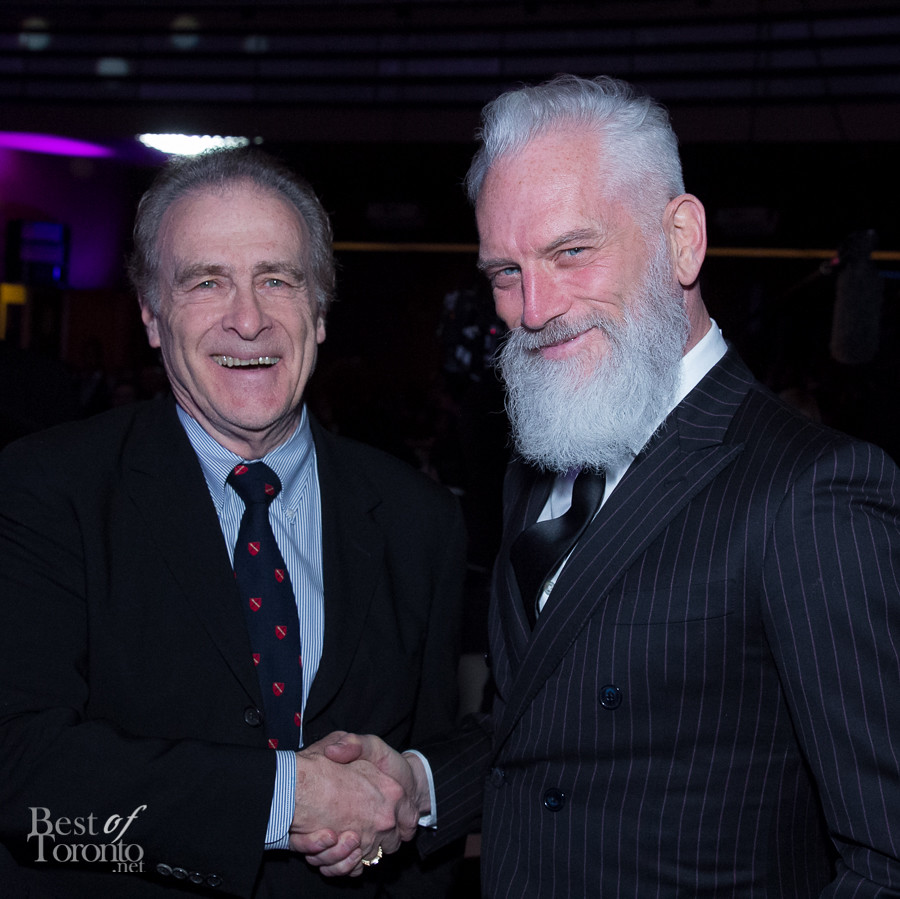 @Norm and Fashion Santa shaking hands for the first time.