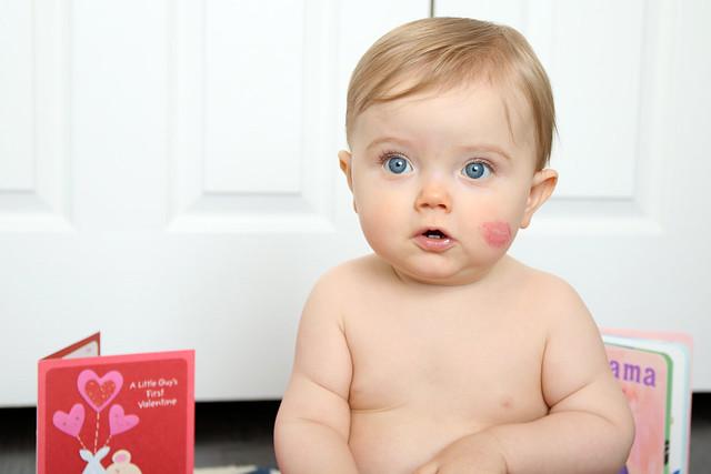 Finn's 1st Valentine's Day