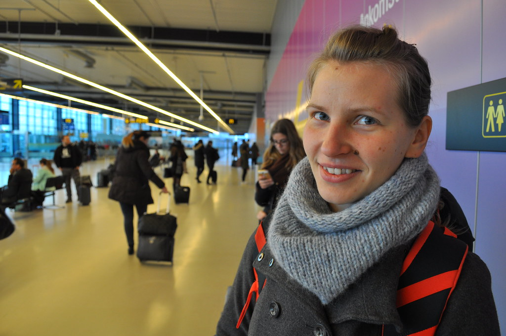Copenhagen Girl Airport