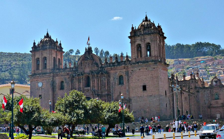 Cusco Peru Church