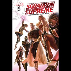 Squadron Supreme #1 capsule review at www.LongboxGraveyard.com. #comics