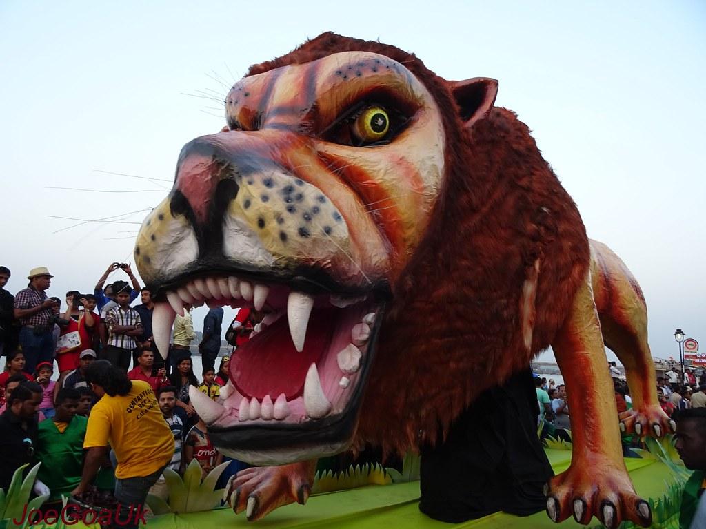 Goa Carnival 2016 Panaji Floats