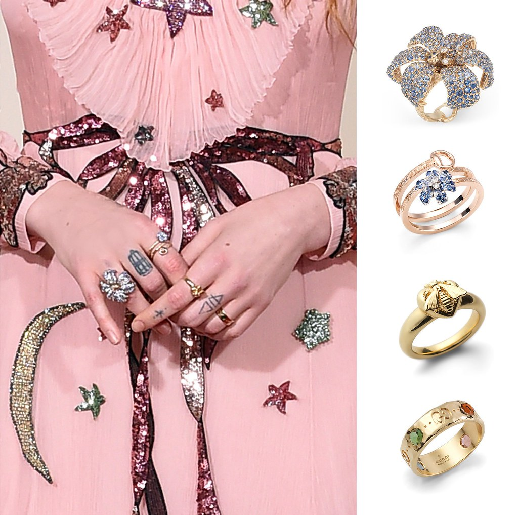 Florence Welch in Gucci Jewelry at the 58th Annual Grammy Awards ...