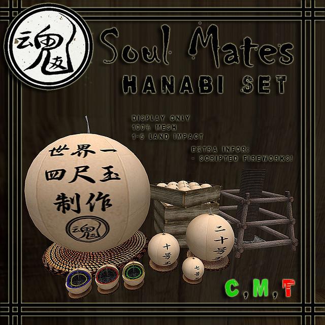 [Soul Mates] Hanabi Set Ad