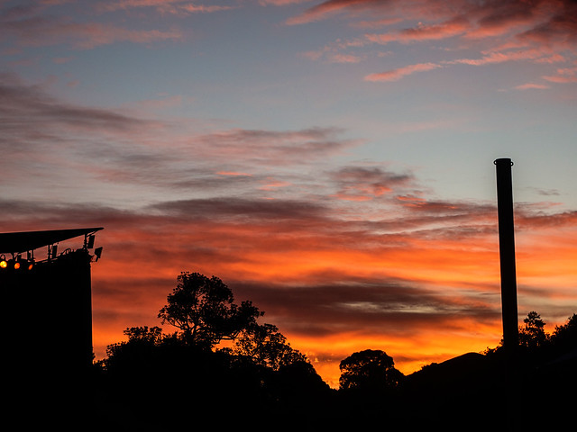 Sunset at Womadelaide 13/3/16
