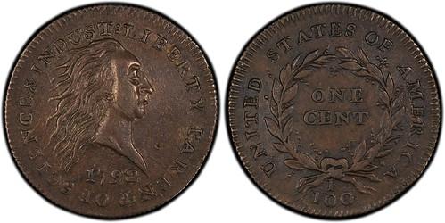 Weinberg 1792 J-2 cent