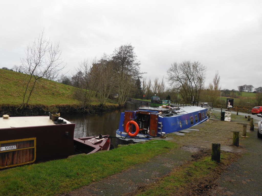 Boats at Salterforth