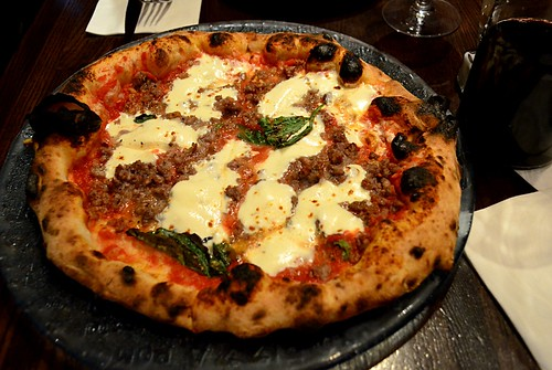 Margherita Pizza with Sausage