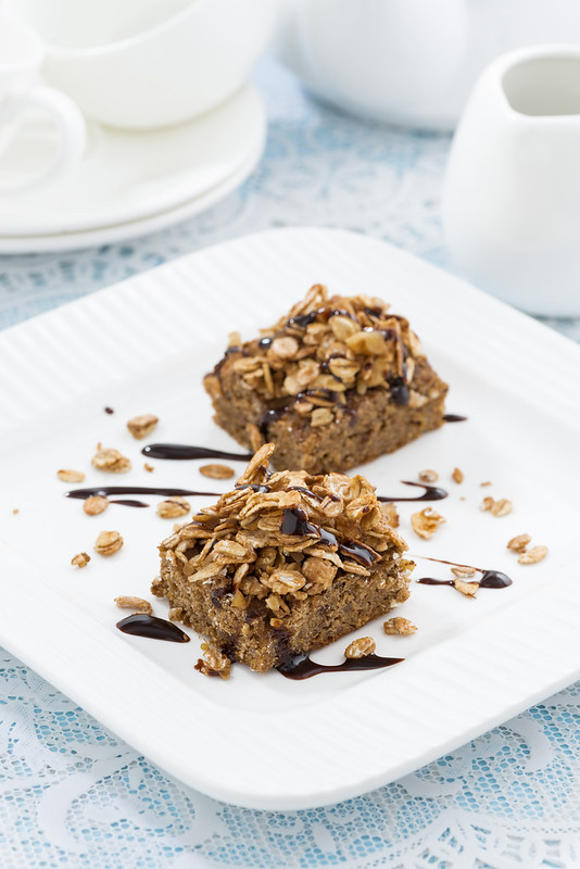 coffee cake with quinoa