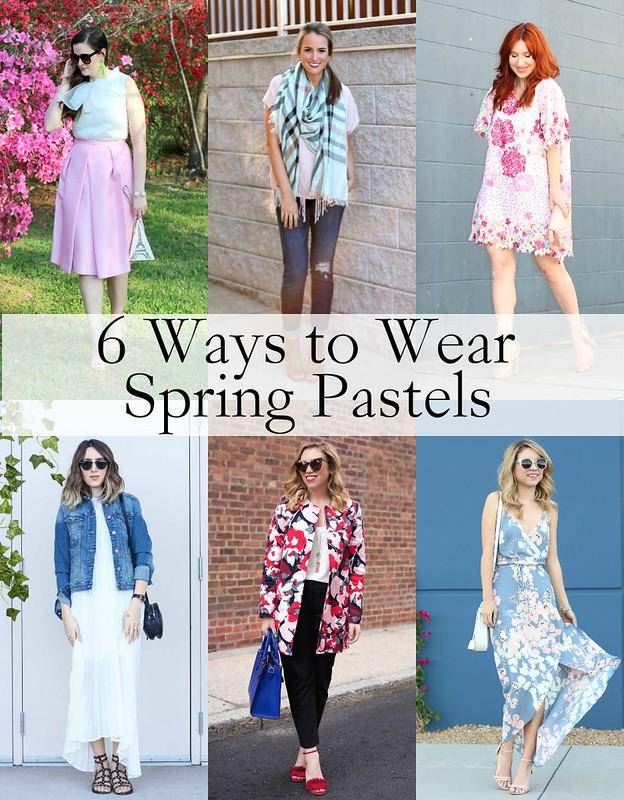 6 Ways to Wear Spring Pastels