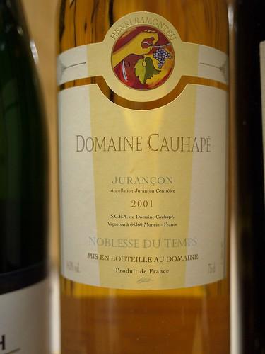 Domaine Cauhape 2001, Jurancon