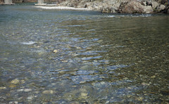 Courant d'eau claire