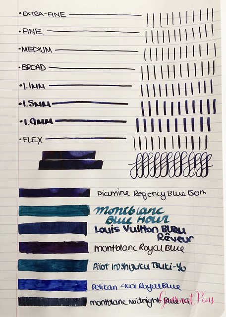 Ink Shot Review Diamine 150th Anniversary Regency Blue (3)