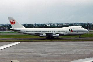 Japan Airlines - JAL Boeing 747-246B JA8113