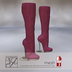 Snowpaws - Dictata Mesh Boot - Maroon