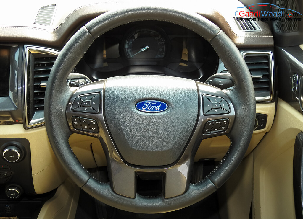 2016 ford endeavour 3.2 steering