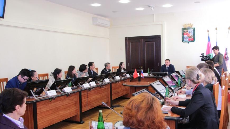 Перспективы обмена туристами между Китаем и Краснодарским краем обсуждали сегодня в Краснодаре