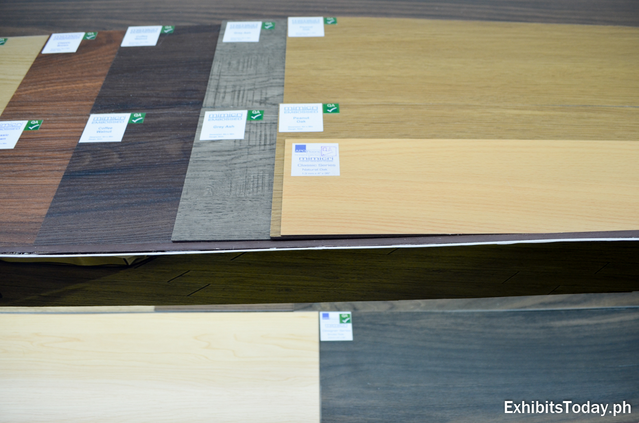 Mimicry Luxury Flooring Samples