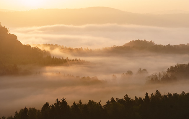 Märchenhafte Morgenstimmung