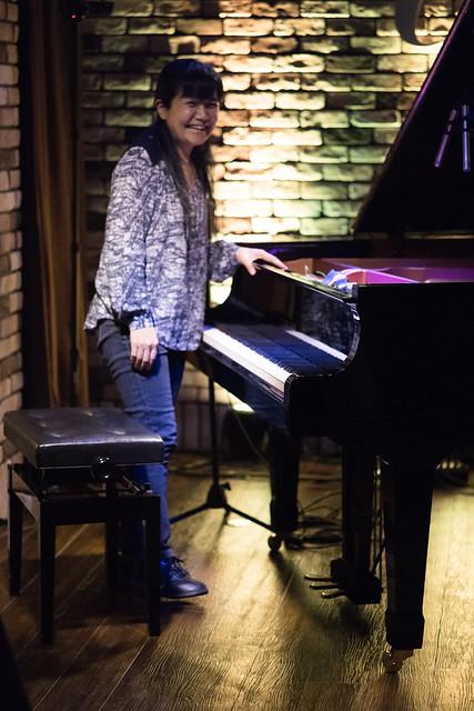 Satoko Fujii live at Cortez, Mito (Japan), 28 Apr 2016 -1000230