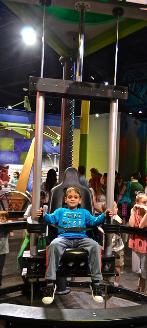 levitating - Discovery Place Charlotte, North Carolina