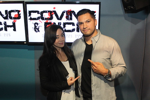 Aimee Garcia on the Covino & Rich Show
