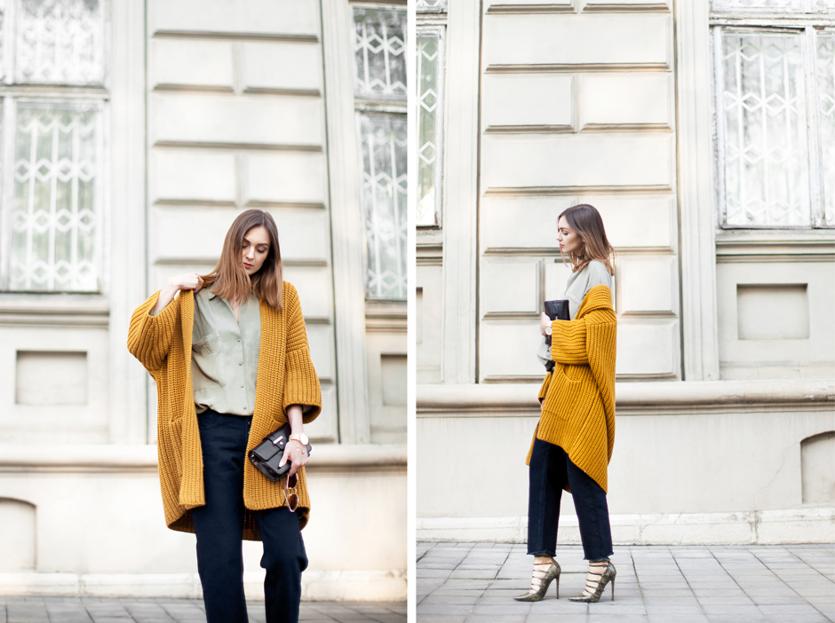 yellow-cardigan-oversized-outfit-street-style