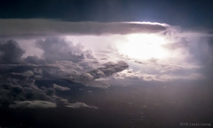 Thunderstorm in the gulf of Mexico