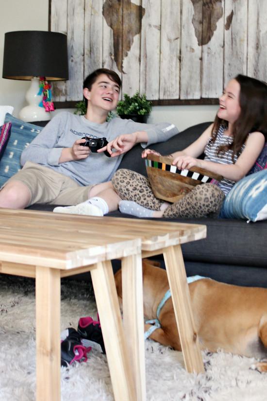 Hi Sugarplum | Gameroom Makeover