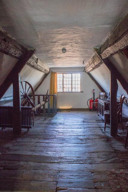 Boscobel House loft