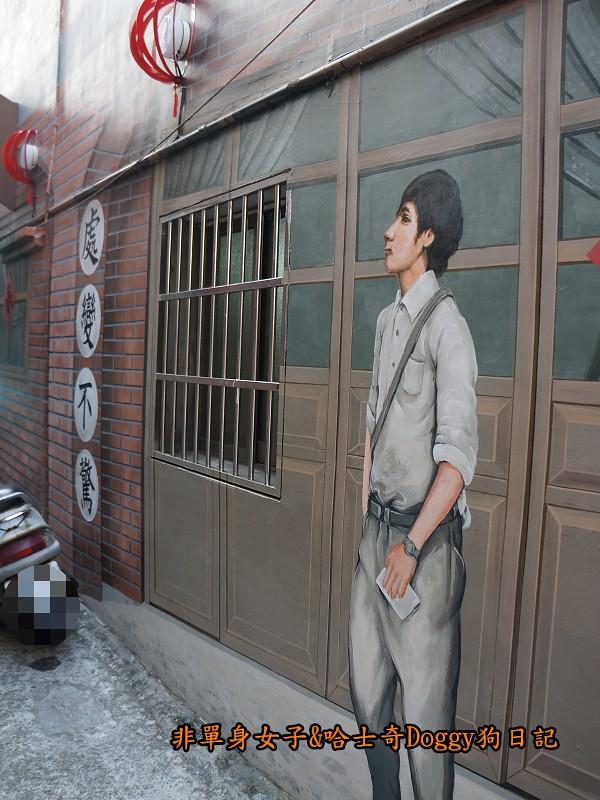 台中沙鹿美仁里彩繪巷26