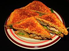 Grilled Pork Chop Sandwiches