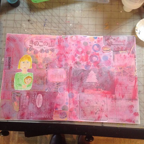 Progress #artjournal